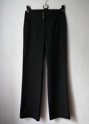 Трендовые брюки трубы прямого кроя
