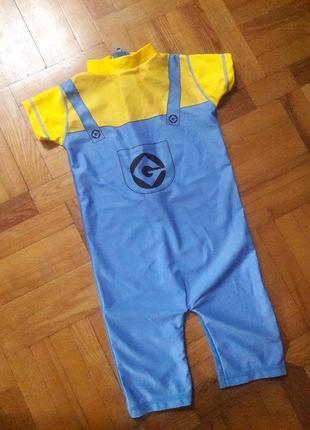 Next купальный костюм комбинезон купальник minion upf 50 защита от солнца