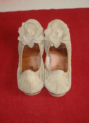 Туфли балетки кожаные бренд freeflex