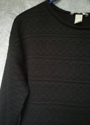 Уютный свитер свитшот h&m