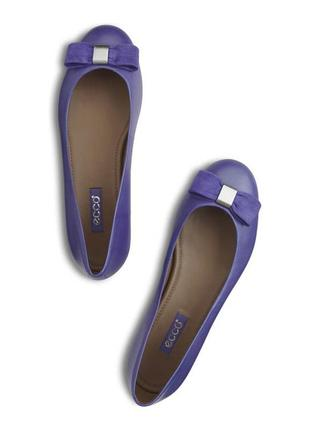 Балетки, туфли ecco owando soft touch ballerina, 42 размер