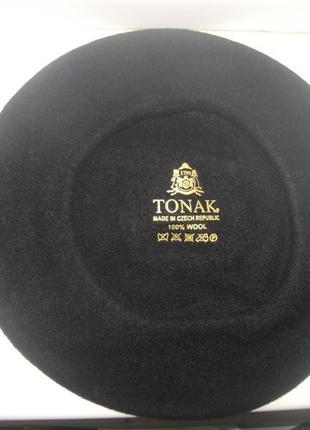 Берет фетровый чешской фирмы tonak и fezko.