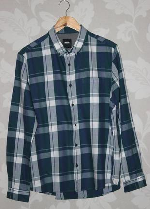 Брендовая рубашка в клетку burton london