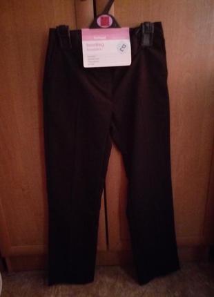 Новые школьные брюки marks&spencer, размер 9-10 (134-140см)