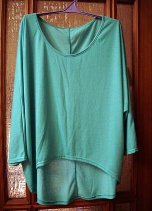 Тонкий трикотажный блузон