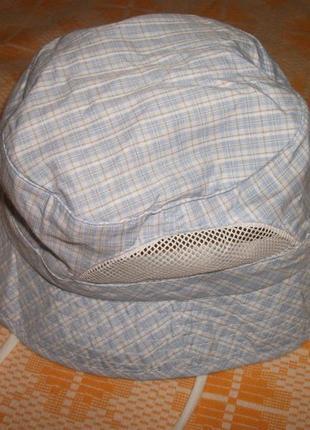 Панамка,шляпка  в клеточку