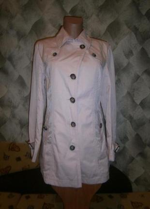 Стильный плащ-куртка