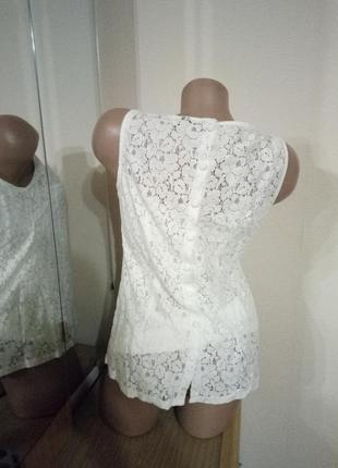 Белоснежная блуза от dorothy perkins