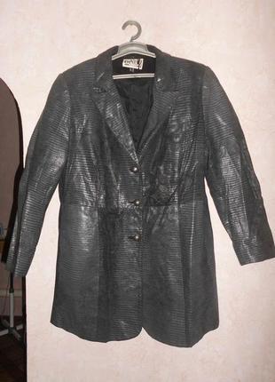 Кожаная куртка пиджак кожа натуральная