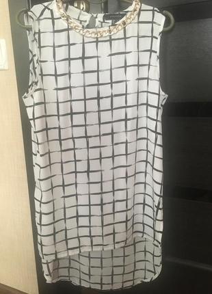 Стильная легкая блузка, туника