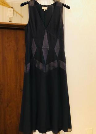 Платье 100 % silk karen millen !!
