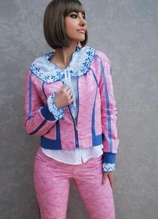 """Нарядный костюм """"барби"""" вышиванка, женский костюм"""