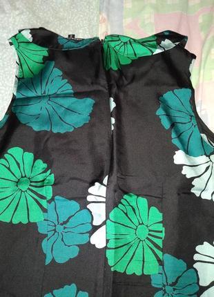 Нарядна шовкова блузка warehouse3 фото
