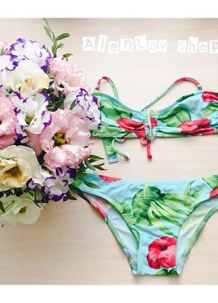 Новый купальник с розами от asos swim