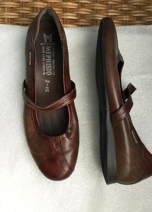 Кожаные полуботинки для усталых ног mephisto originals туфли франция ... 5661e3ee55ec4