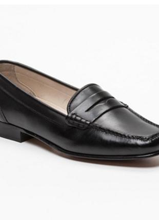 Новые. классические туфли/мокасины barker, made in england. uk6