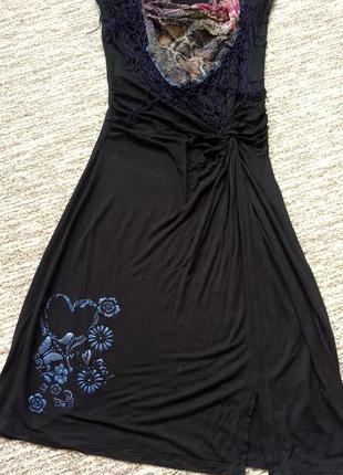 Платье трикотаж s-m