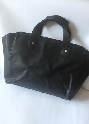 Большая вместительная сумка шоппер от atm
