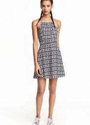 Летнее пляжное платье h&m