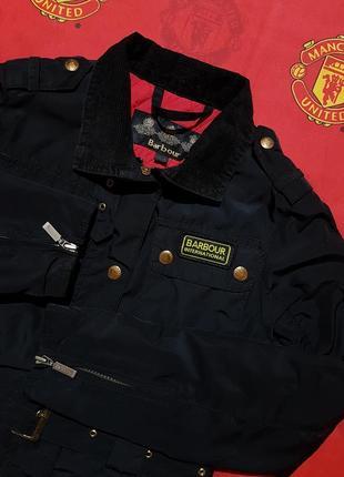 Barbour international женская стёганая курточка
