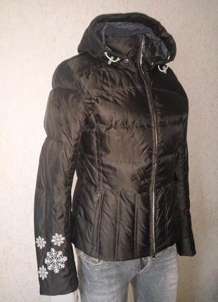 Пуховик, зимняя фирменная куртка, лыжная куртка, горнолыжный пуховик, гірськолижна куртка