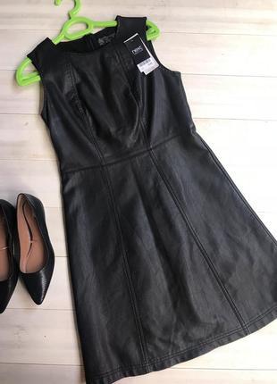 Актуальное платье из качественной эко-кожи