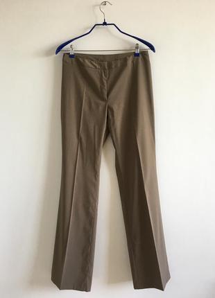 Брюки benetton ucb l 44 италия легкие штаны коричневые