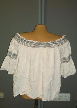 Топ блуза кофточка со спущенными плечами george2 фото
