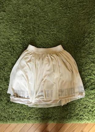 Шикарная фатиновая юбка