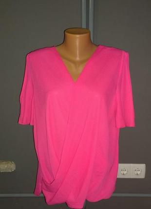 Свободная блуза с драпировкой george