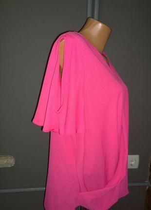 Свободная блуза с драпировкой george3 фото