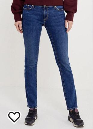 Новые синие прямые джинсы  размер 26 colins
