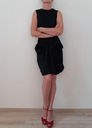 Шелковое  черное  платье & other  stories