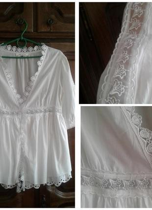 Нежная белая блуза asos
