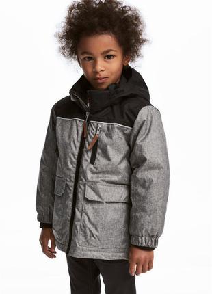 Детская термо куртка от h&m 7-8 лет 128 см