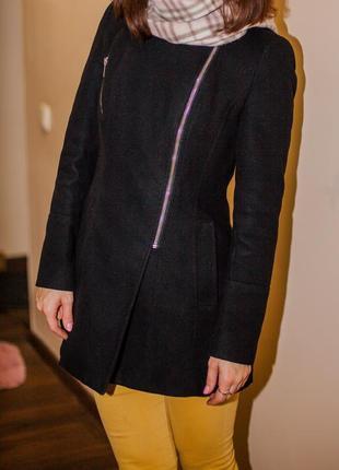 Драповое пальто new look