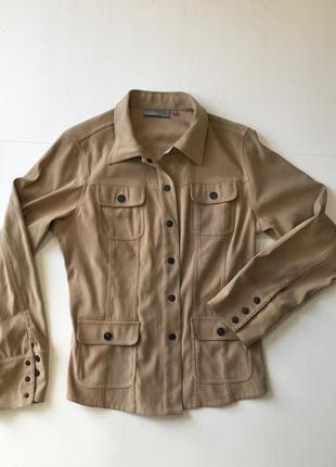 Куртка рубашка в сафари стиле