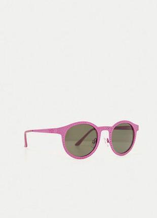 Шикарные летние розовые солнцезащитные очки zara