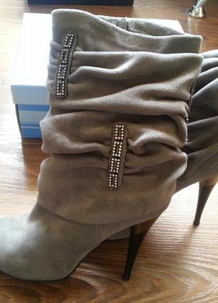 Ботильоны, ботинки, полусапожки