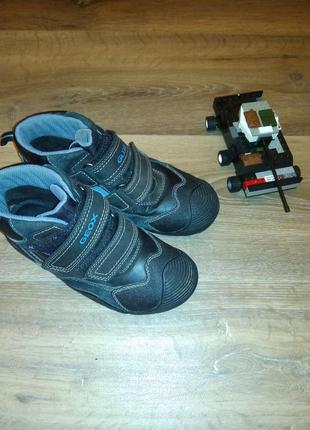 Ботинки geox amphibiox 33р-21,5см! состояние отличное!