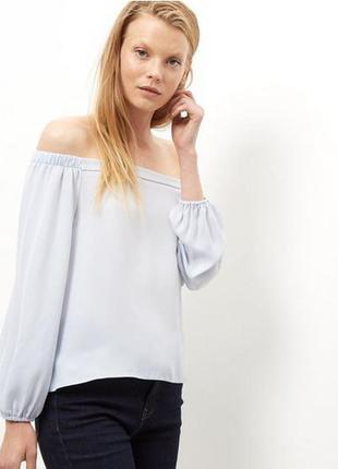 New look блуза с открытыми плечами