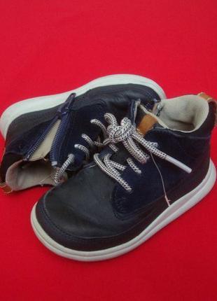 Ботинки clarks натур кожа 21-22 размер