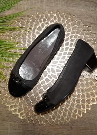 (38 /24. 5 см) medicus! базовые туфли на удобном каблучке