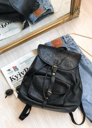 Стильный удобный вместительный рюкзак винтажный atm в школу и не только