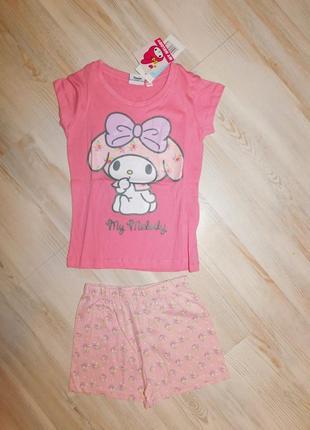 Комлект пижама для девочки 6 лет disney my melody