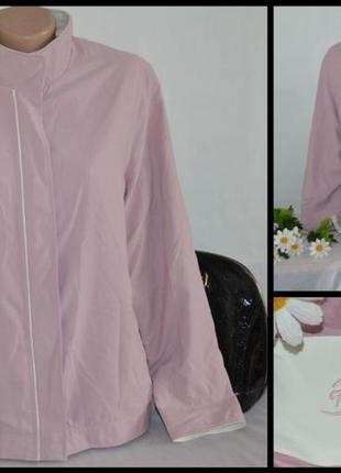 Брендовая куртка на молнии berkertex