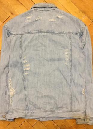 Стильна та практична джинсова куртка flattop man original brand
