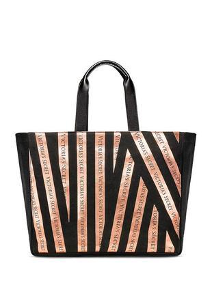 Оригинал шоппер пляжная сумка большая victorias secret виктория сикрет