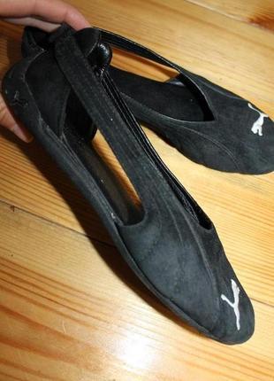 37 разм. кроссовки puma. замша натуральная