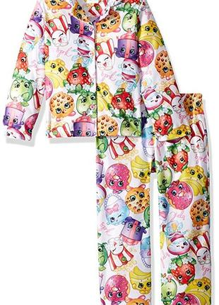 Пижамка shopkins шопкинс, рр 5-6 и 7-8 лет (116-128 см), оригинал usa